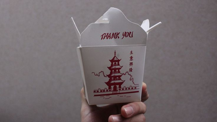 Chinese Food Delivery Containers, Explained The story behind those iconic white cardboard containers
