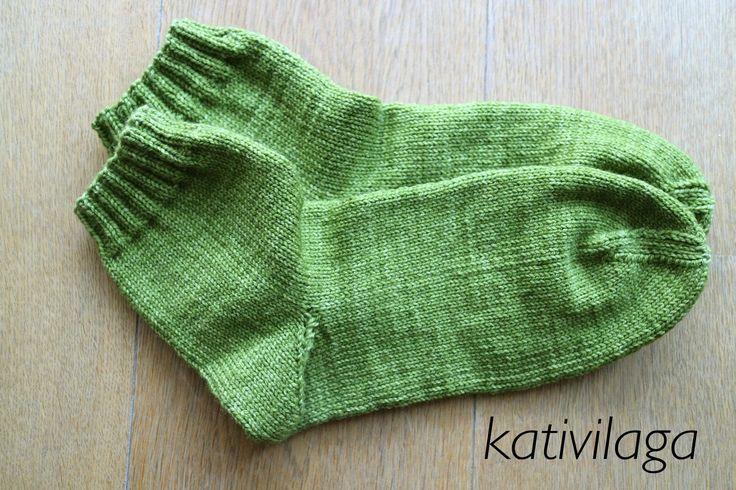 How to knit socks - Comment tricoter des chaussettes - Cómo tejer calcet...