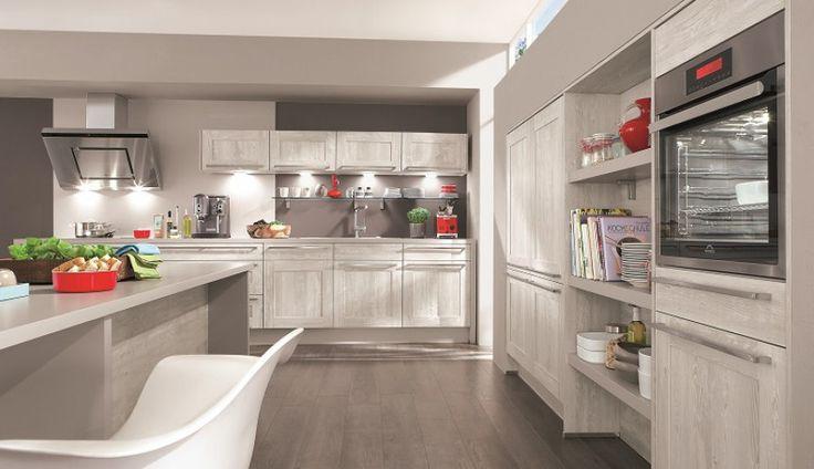 Marzysz o klasycznej, jasnej kuchni w stonowanych szarościach? Aranżacja oferowana przez firmę Atrii na pewno CIę usatysfakcjonuje! http://www.mega-meble.pl/produkt- Cottage-278