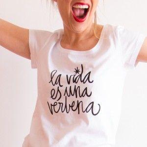 Camiseta Verbena