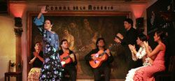 Recomended: Authentic flamenco show & diner at Corral de la Moreria, the most famous flamenco place in Madrid,