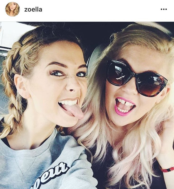 Zoella and Sprinkleofglitter