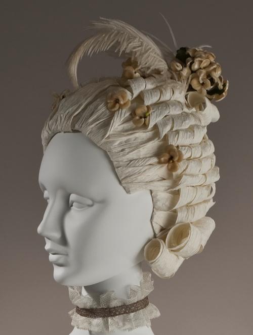 Hmmm...........a paper wig, 18th Century.