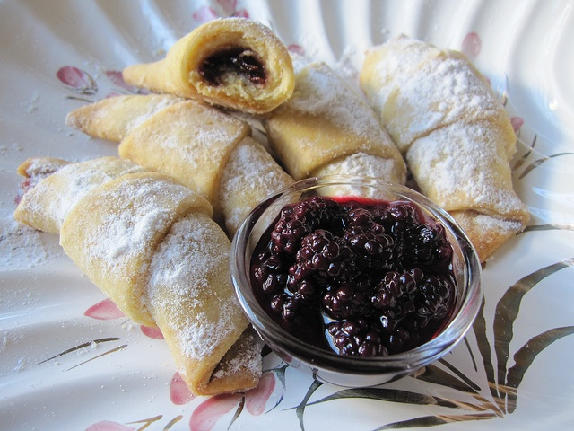 Kifle Me Gjem Albanian Filled Butter Crescents With Jam