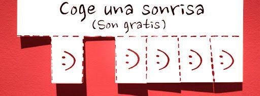 Portada facebook: Coge una sonrisa roja