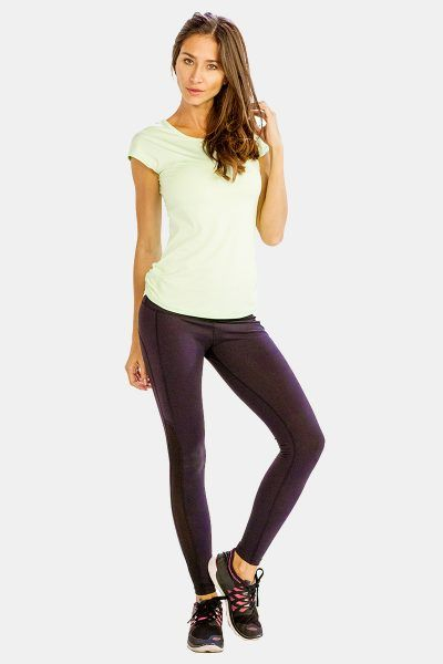Buy This Comfy Cool Cap Sleeve #Yoga #Tee at 25% OFF!!  (Use coupon code A25OFF) at Alanic Activewear