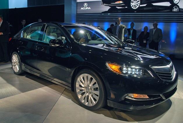 2014 Acura RLX replaces SH-AWD with P-AWS