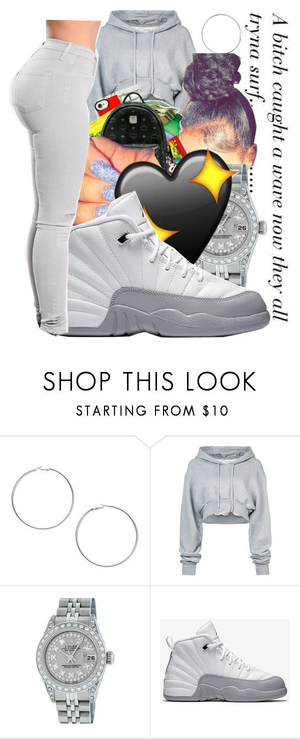"""""""Untitled #319"""" by bhadbhabiebri ❤ liked on Polyvore featuring Miss Selfridge, Off-White, Rolex and NIKE"""