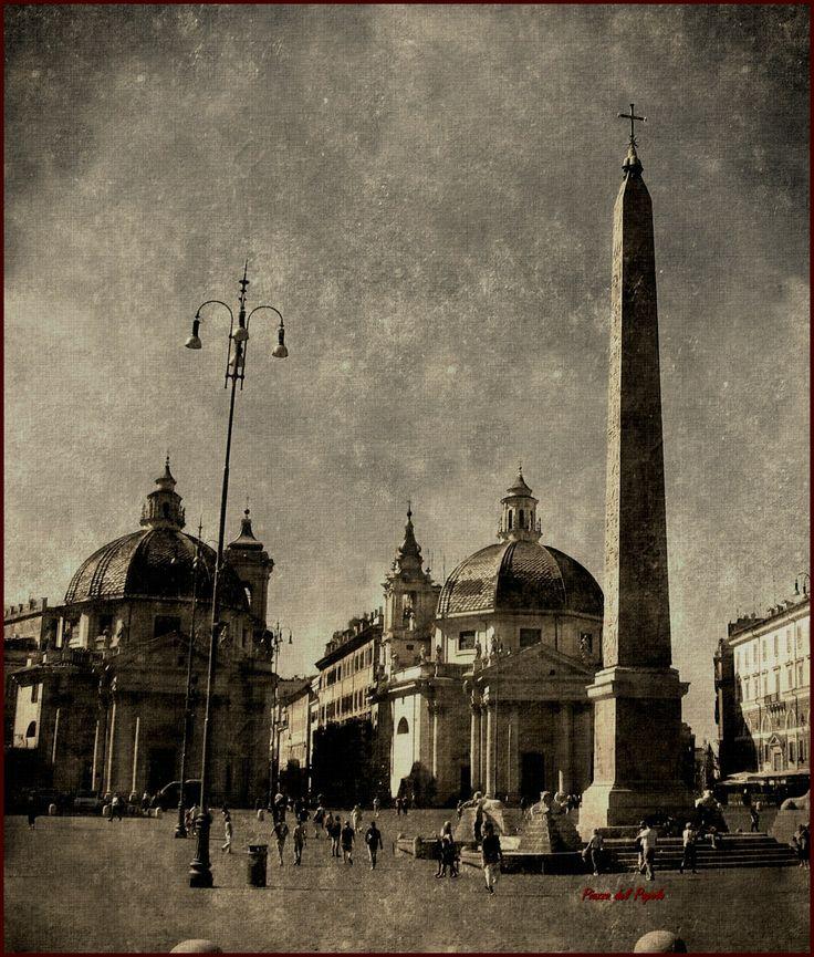 Roma P.zza del Popolo