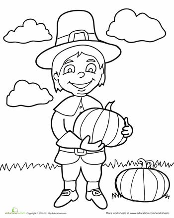 thanksgiving coloring pages and themes - photo#49
