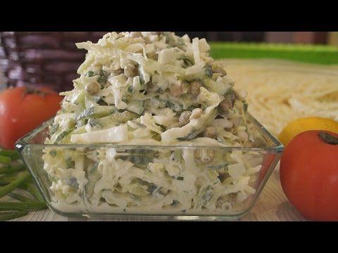 """Салат """"Пятиминутка"""". Ну Оочень нежный и Вкусный - Простые рецепты Овкусе.ру"""