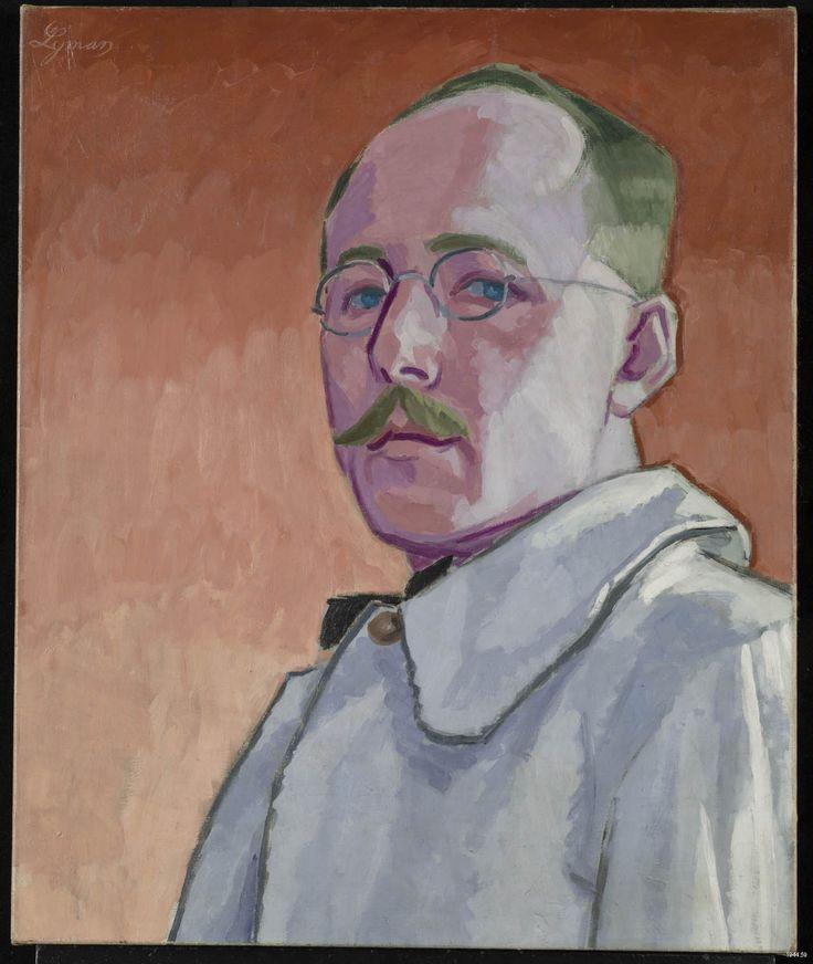 """John Lyman, """"Autoportrait"""", 1918. Huile sur toile, 73 x 60,3 cm. Collection MNBAQ."""