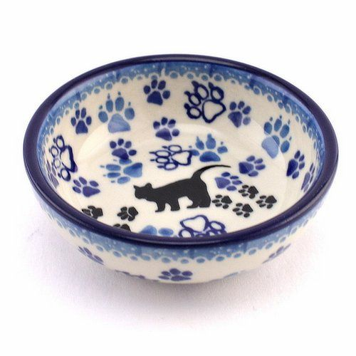 At least one cat for everyone! :) http://slavicapottery.com #Polishpottery #bowl