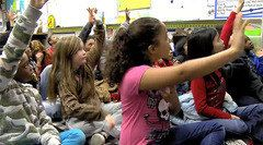 FREE Video ~ Improving Participation with Talk Moves shows a wonderful technique for improving class participation using hand signals and simple techniques.  A few small changes will encourage students to repeat, add on, agree, and change their mind.  Everyone participates, even when it's not their turn to talk.  Love this!