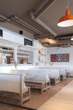 Das Restaurant dii:ke im Beach Motel Sankt Peter-Ording