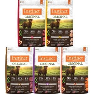 Nature's Variety Instinct Grain Free Dry Dog Food for Canines