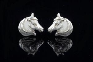 Large Horse Head Earrings