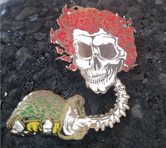 Hey, I found this really awesome Etsy listing at https://www.etsy.com/listing/487152639/aaron-brooks-bertha-glitter-pin