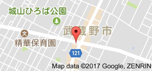 ウドンスタンド五頭の地図