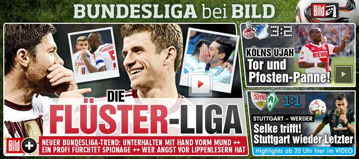 1:1 http://www.bild.de/bundesliga/1-liga/saison-2014-2015/vfb-stuttgart-gegen-sv-werder-bremen-am-28-Spieltag-36650204.bild.html Poor VfB...who made VfB behind even those Ex-VfB or from Stuttgart area like Davie Selke (born 20 January 1995 in Schorndorf, near Stuttgart). But Stuttgart also not loyal to loyal foregners etc either lol, neither VfB with trainers...1st time ever they keep trainer, in previous cases always kicked out the innocent trainers als black sheep!