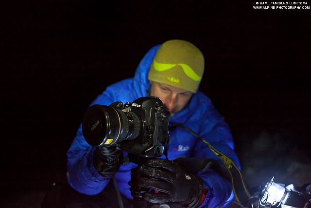 """Behind the scenes of """"Let there be light"""" documentary for Clik Elite / Redged / Rab / Nikon Europe"""