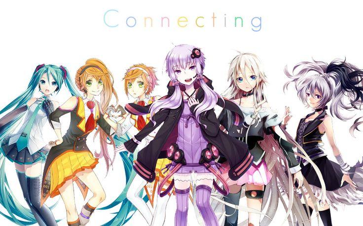 [VOCALOID] Connecting ! - Yukari, Miku, Kanon & Anon, Ia, V flower +MP3