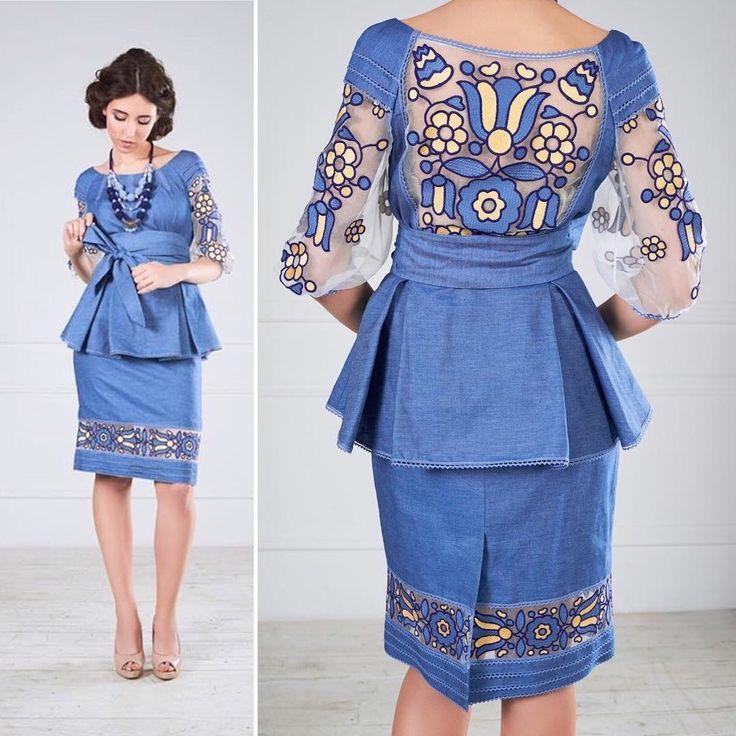 Елегантна та вишукана сукня з вишивкою, від @oksana_polonets Замовлення за тел/viber +38(097)9883838 Фото @lesya_garbar_olgart Стиліст @stylist_medvedeva_ua #oksanapolonets #polonets #ukrainian