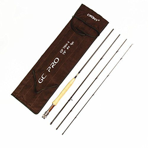 CRONY GC PRO Series 4-Pieces Fly Rod Fly Fishing Pole (90 7#) https://bestfishingkayakreviews.info/crony-gc-pro-series-4-pieces-fly-rod-fly-fishing-pole-90-7/