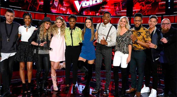 Watch the full episode of The Voice Season 12 Top 11 live performance show on Monday night, May 1, 2017. Tonight, the remaining 11 artists will perform for America's with Jesse Larson, Lilli Passero and Mark Isaiah from Team Adam. Brennley Brown and Hunter Plake from Team Gwen. Lauren Duski, Aliyah Moulden and T Soul from Team Blake. Chris Blue, Vanessa Ferguson and Stephanie Rice from Team Alicia. Last week, Team Gwen's Troy Ramey was eliminated after losing to Mark Isaiah in the Insta Save…