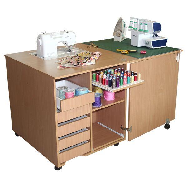 Интернет-магазин бытового швейного оборудования Логос - Стол для швейной машины и оверлока Комфорт 1Q