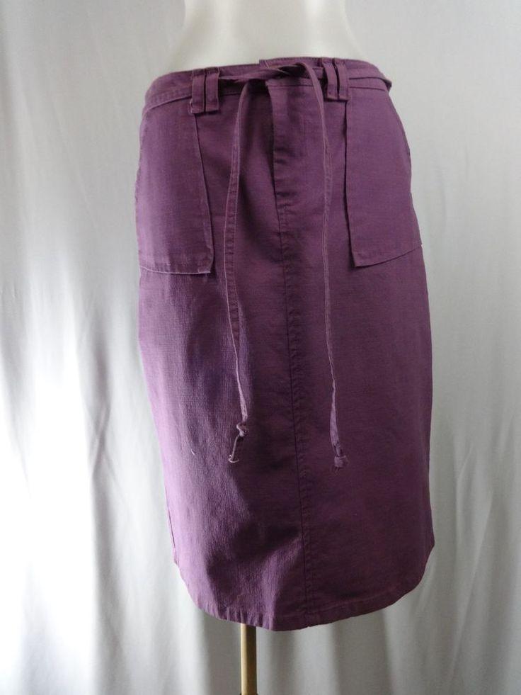 HOT KISS 3 Purple Straight Pencil Skirt Jean Skirt Style #HotKiss #StraightPencil