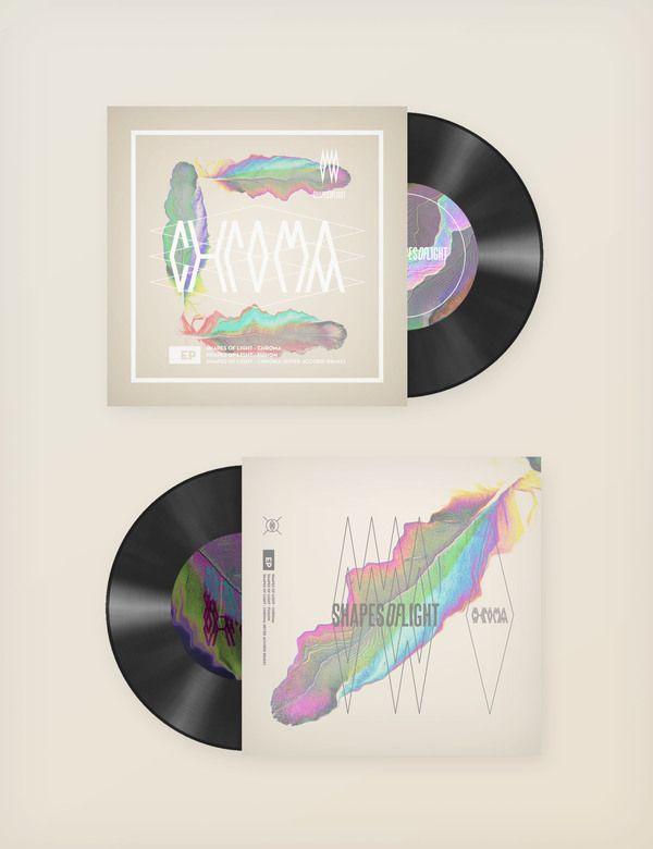 Shapes Of Light - Chroma EP by Jorge Letona, via Behance PD