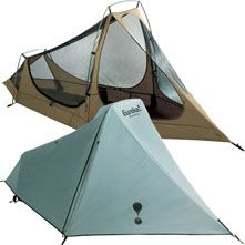 Eureka Spitfire - one man tent - been using it for many years now and I love it!