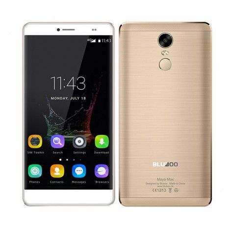 BLUBOO MAYA MAX 3GB RAM 32GB ROM MTK6750 1.5GHz Octa Core 6.0 Inch 2.5D JDI OGS Corning Gorilla Glass 4 HD Screen Android 6.0 4G LTE Smartphone Gold - Mobile Phones - Wholesale Electronics on AntElife.com - #Antelife - #Android - #Sale
