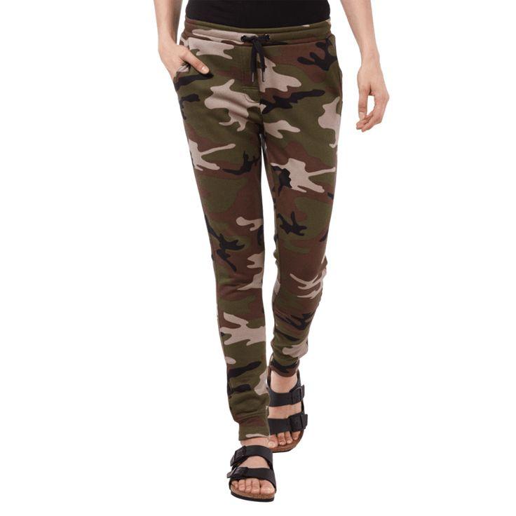 | #Zoe #Karssen #Sweatpants mit #Camouflage-Muster #für #Damen