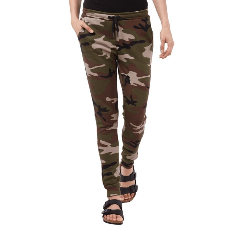   #Zoe #Karssen #Sweatpants mit #Camouflage-Muster #für #Damen