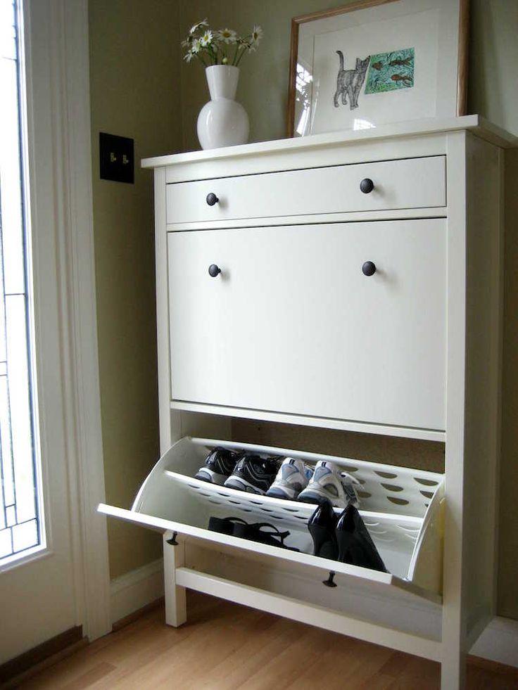 die besten 25 ikea hemnes schuhschrank ideen auf. Black Bedroom Furniture Sets. Home Design Ideas