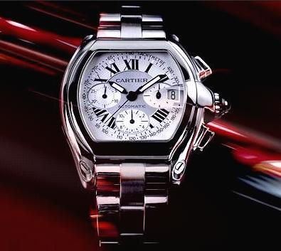 New Model - Cartier Roadster Chronograph [4/3/03] - TimeZone