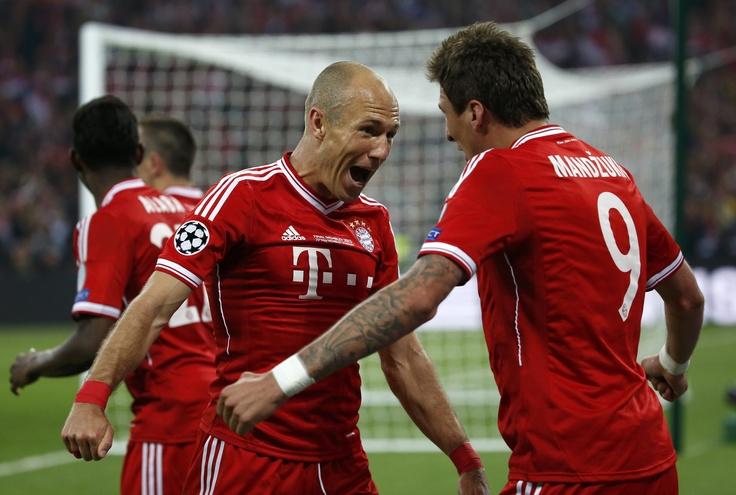 Final Champions League - Bayern Munich vs. Borussia Dortmund