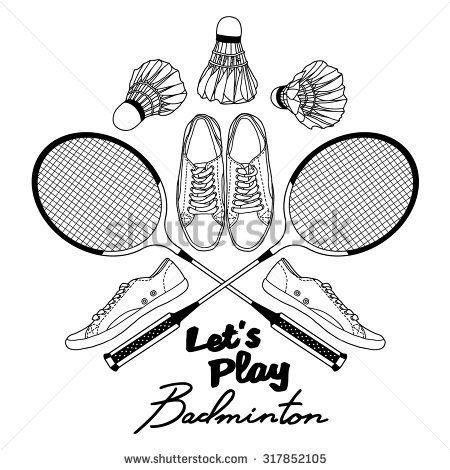 illustration badminton - Recherche Google
