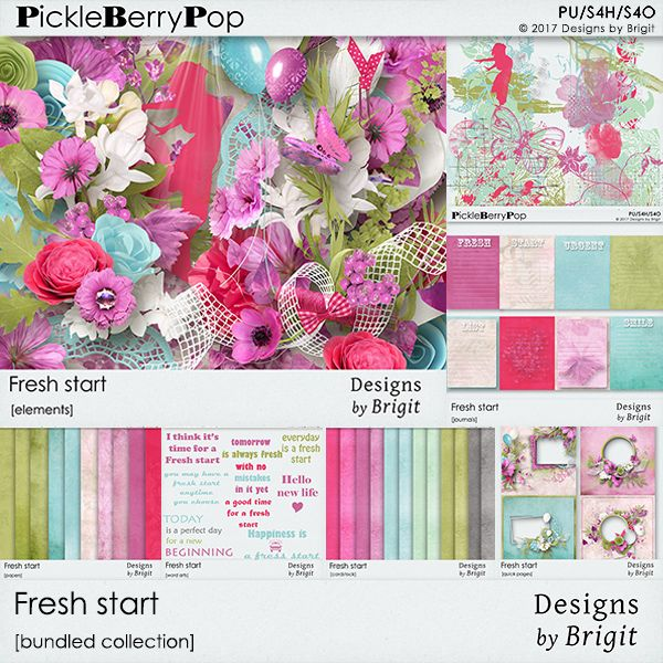 Fresh start bundled collection