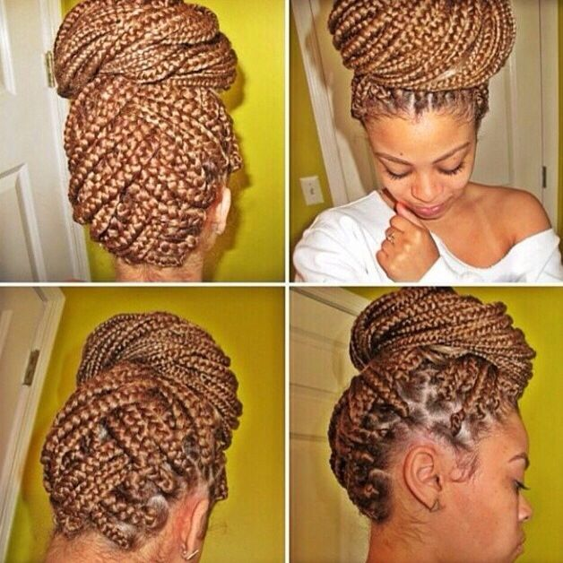 bun styles with braiding hair 313 best images about box braids on solange 8482