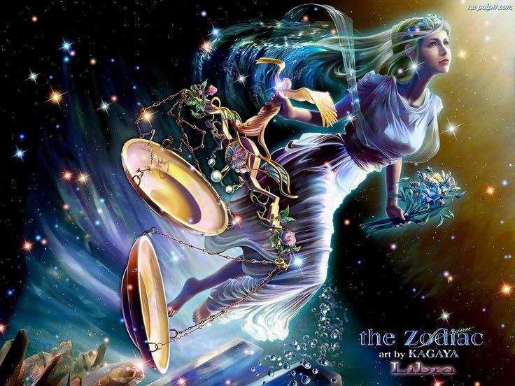 Znalezione obrazy dla zapytania waga znak zodiaku