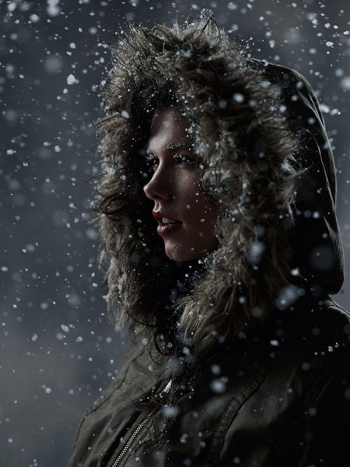 Joey L. Creates Indoor Blizzard For Unique Portraits