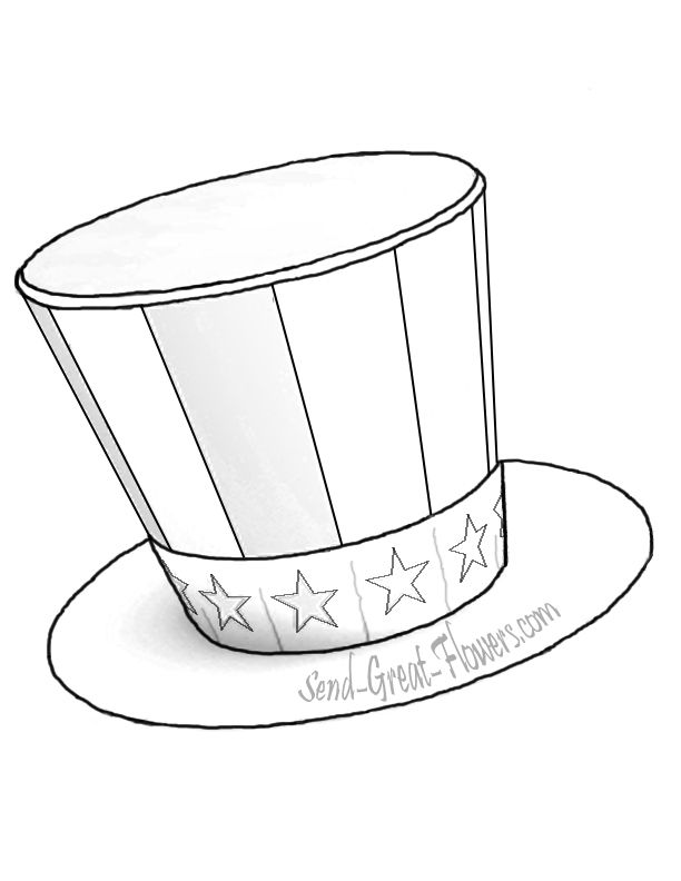 coloring pages of chef hats - photo #44