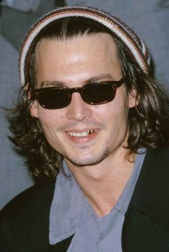Johnny Depp gold Teeth