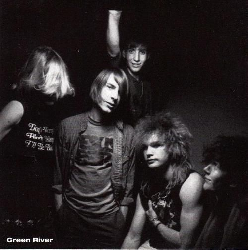 Green River w/ Stone Gossard & Jeff Ament.  Wow - look at Jeff's arms!!!!