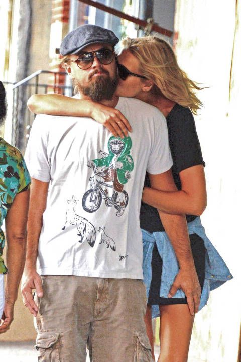Leonardo DiCaprio and girlfriend Toni Garrn out in New York City on Sept. 3…