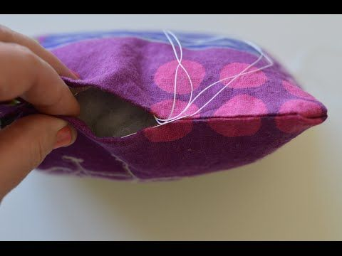 Learn how to sew an invisible stitch (hidden stitch, slip stitch, or lad...