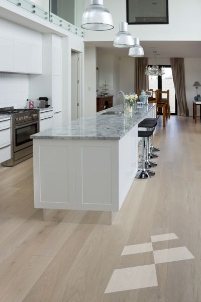 Light washed Oak floor - Christchurch residence - Designer Flooring | French Oak | Real Wood Floors | Imitation Wood Floors | Solid Wood Flooring